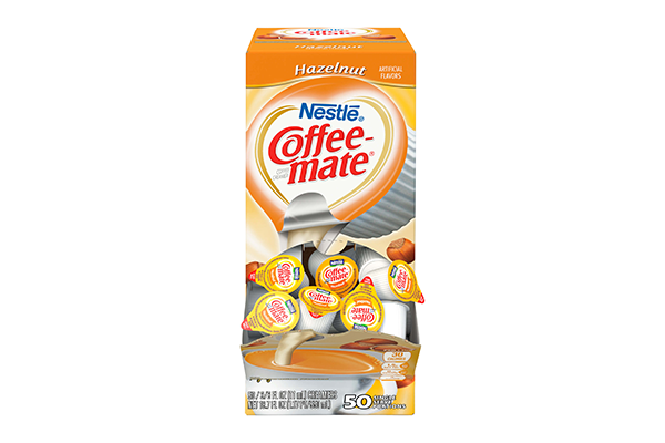 Coffeemate Hazelnut 50-count Creamer Cups