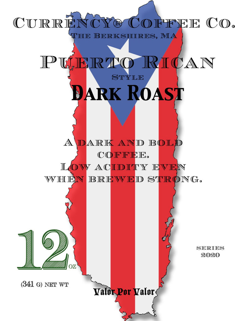 Currency® Coffee Puerto Rican-style