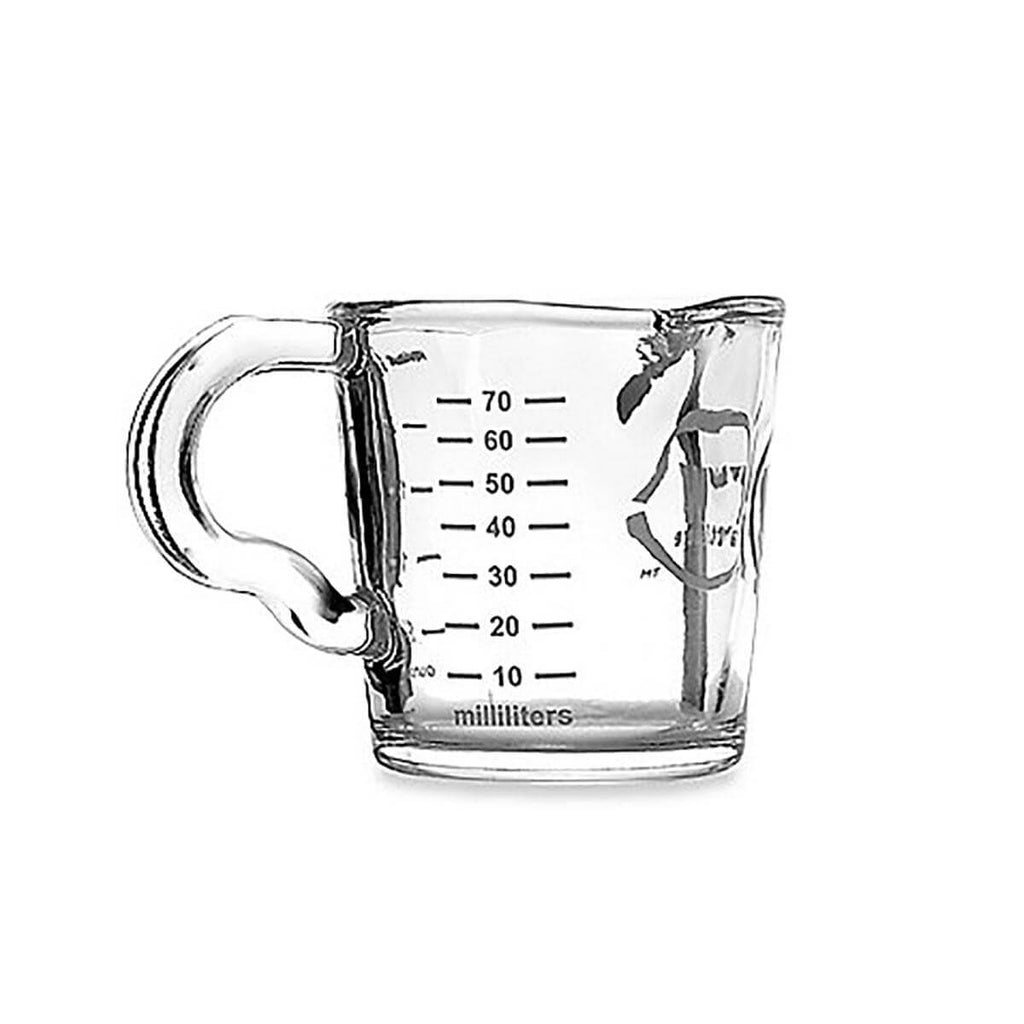 3oz Double-Spout Shot Glass with Handle