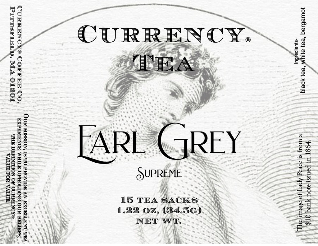 Currency® Tea Earl Grey Supreme 15-count