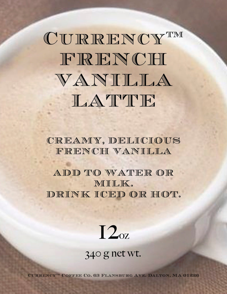 Currency® French Vanilla Latte (limited ingredient)