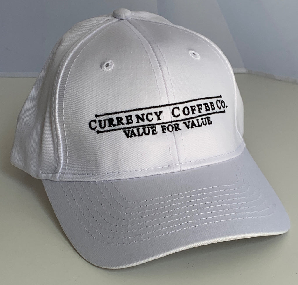 Currency™ Coffee Cotton Logo Hat
