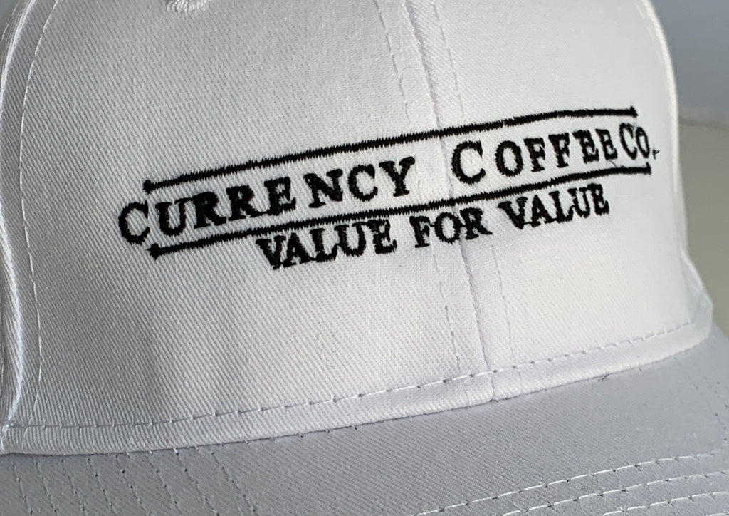 Currency® Coffee Cotton Logo Hat