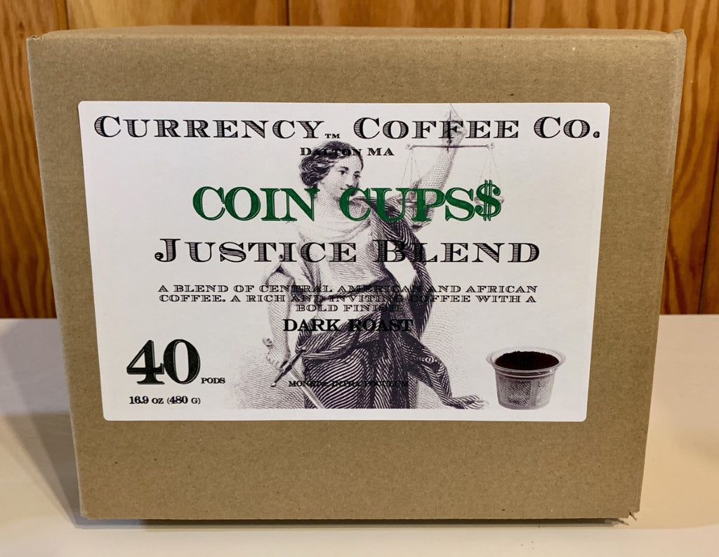 Currency® Coffee Justice Blend Pods 40-count
