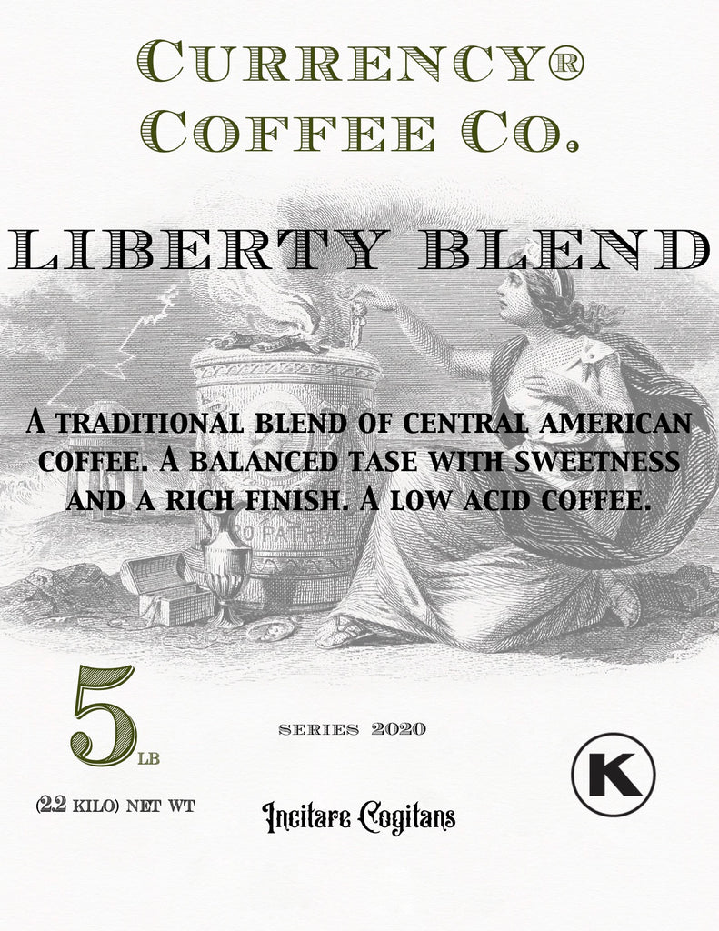 Currency Coffee Liberty Blend