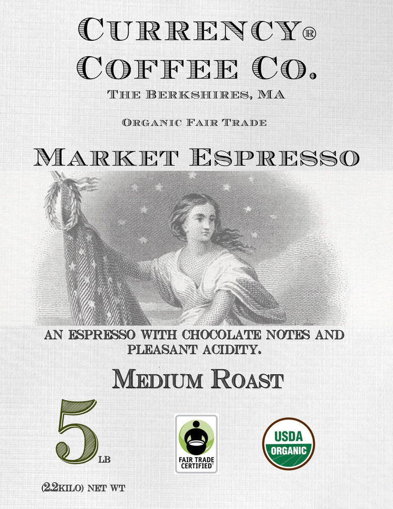 Organic Currency® Market Espresso