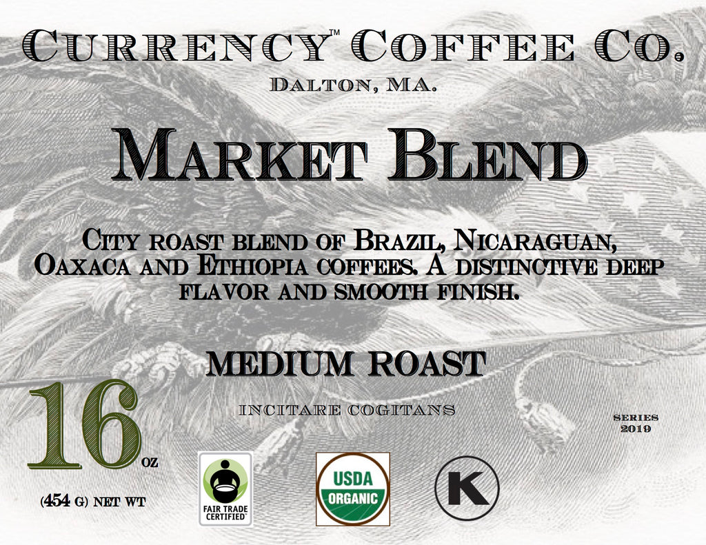 Organic Currency® Market Blend