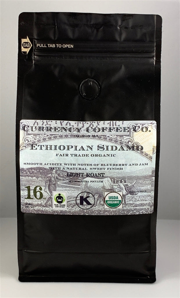 Organic Currency™ Ethiopian Sidamo