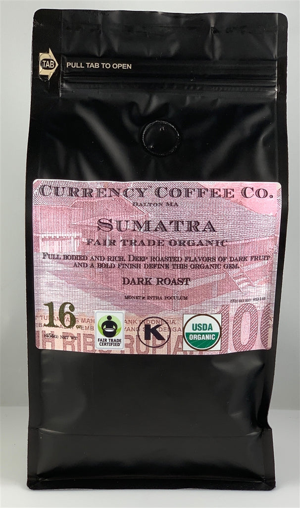 Organic Currency™ Sumatra
