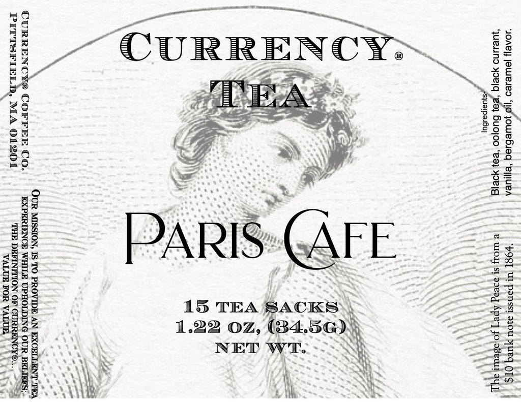 Currency® Tea Paris Cafe 15-count