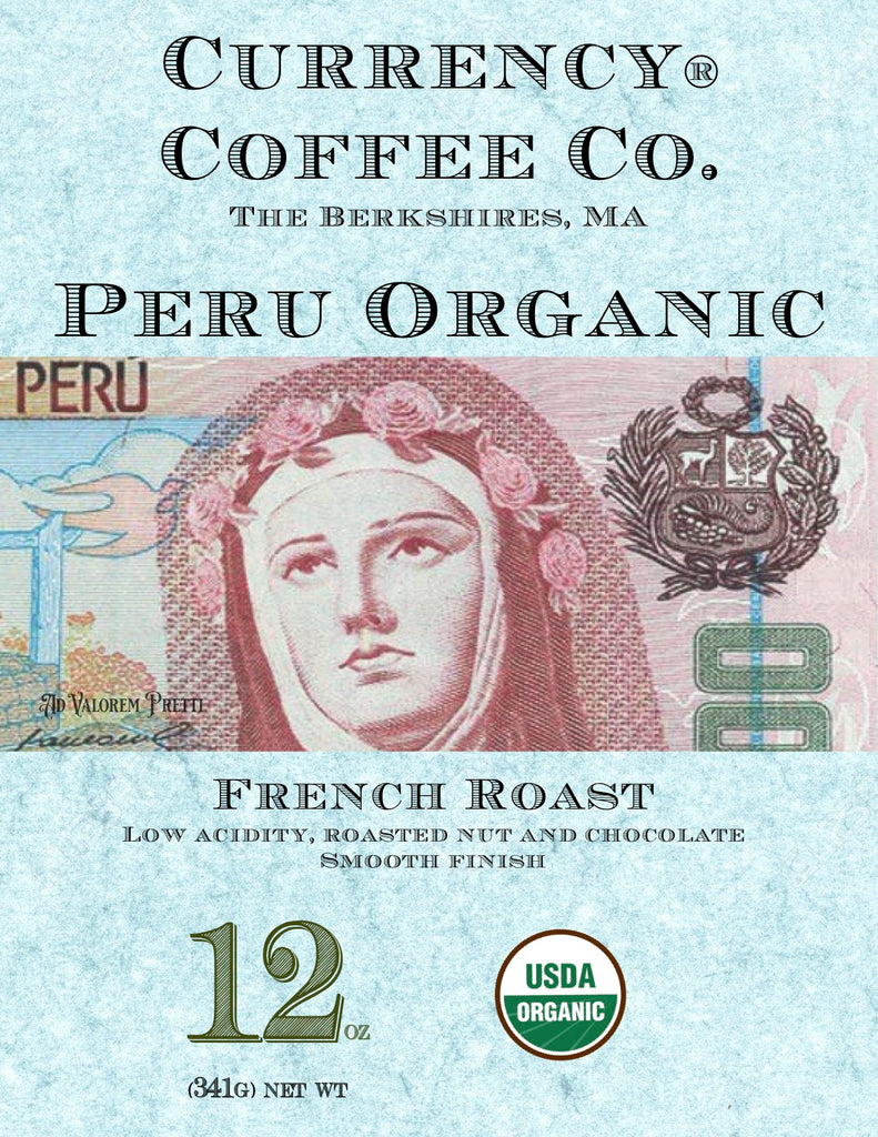 Currency® Coffee Organic Peru French Roast