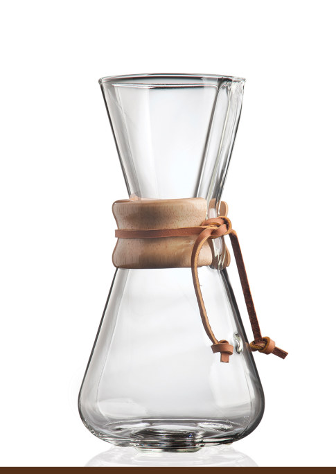Chemex® Classic Series 3-cup coffee maker