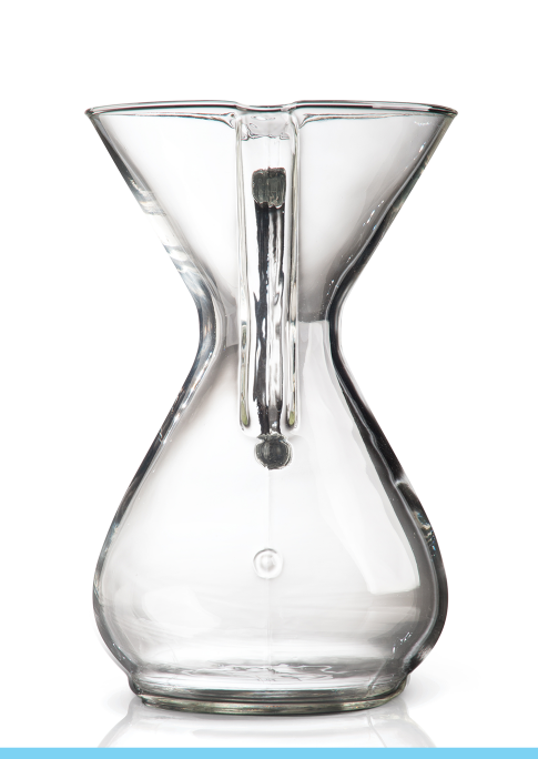 Chemex® Glass Handle 6-cup coffee maker