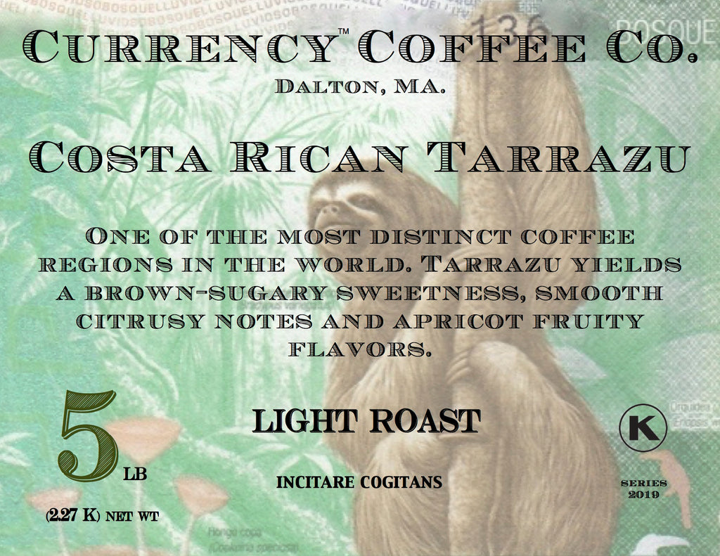 Currency® Coffee Costa Rican Tarrazu