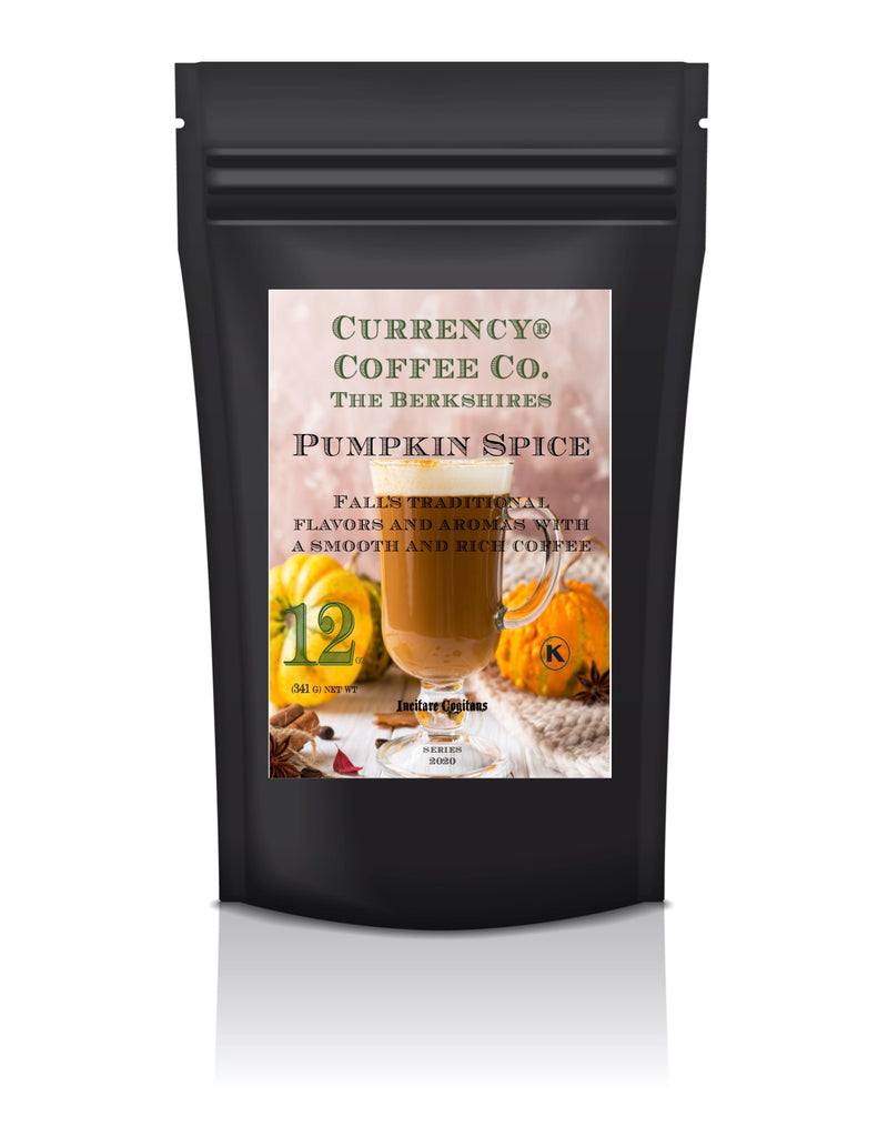 Currency Coffee Pumpkin Spice Coffee