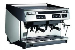 UNIC TWIN MIRA COMMERCIAL ESPRESSO MAKER