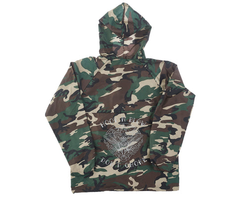 Sativa Camo Windbreaker