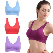 Load image into Gallery viewer, Women Girls Padded Seamless Bra