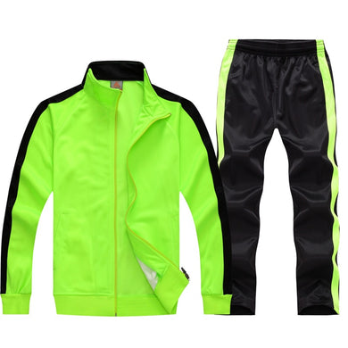 Long Sleeve Soccer Sets Football Jerseys and Pants and Jacket Tracksuit Training Suit Kids to Adult Football Custom Uniforms