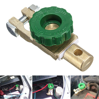 Car Motorcycle Battery Terminal Link Quick Cut-off Switch Rotary Disconnect Isolator Car Truck Auto Vehicle Parts