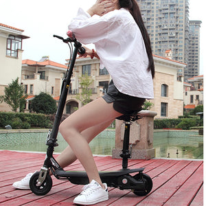New Inflatable Air Wheels Folding Electric Scooter Re-chargeable Mini Scooter Skateboard For Child Adults