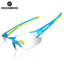 Load image into Gallery viewer, ROCKBROS Photochromic Cycling Bicycle Sunglasses Running Camping Hiking Glasses Sports Men Eyewear UV400 Sun Glasses Goggles