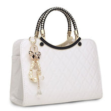 Load image into Gallery viewer, Luxury simple shells leather handbag