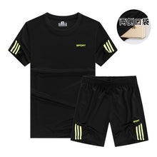 Load image into Gallery viewer, Quick Dry Men's Sport Running Suits Basketball Soccer Training Tracksuits Jersey Summer Fitness Sportswear Gym Clothing Sets
