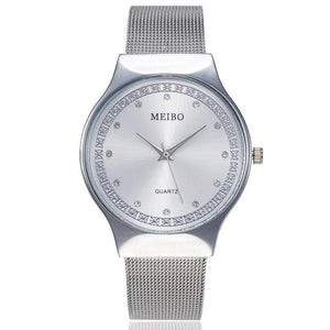 MEIBO Women's Watches Ladies Casual Quartz Stainless Steel New St rap Watch Analog Wrist Watch Female Clock relogio feminino A2