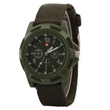 Load image into Gallery viewer, Fashion Men's Military Army Dial Army Sport bracelet Wristwatch mens chronograph watch Mechanical watches relogio masculino