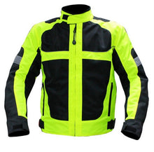 Load image into Gallery viewer, summer Motorcycle men's woman's jacket Moto Protective Gear Jacket men Racing Reflective oxford clothing Motorbike jackets
