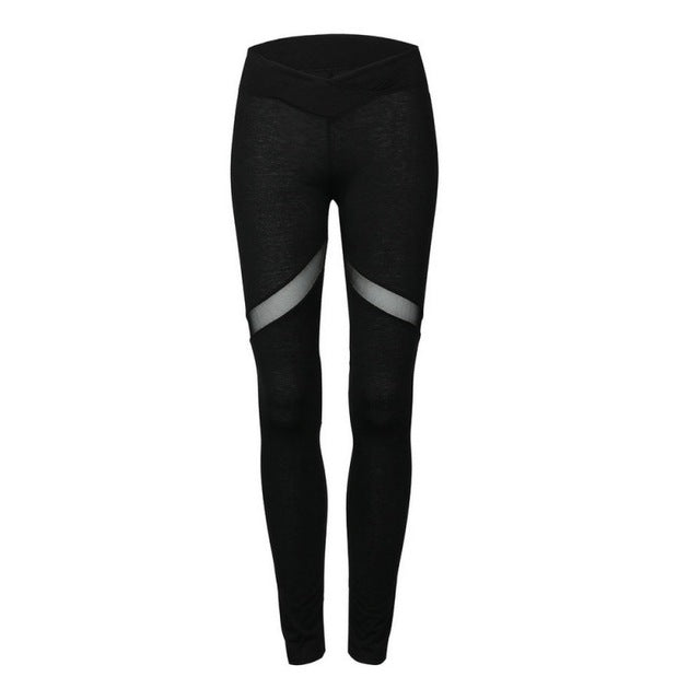 Women Quick Drying Training Trousers High Elastic Fitness Sport Leggings Tights Slim Running Sportswear Pants 2 Colors