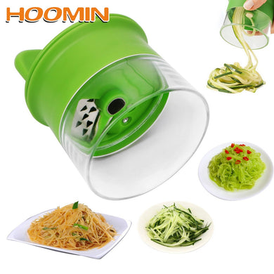 Time saving Carrot & Cucumber Grater Spiral Blade Cutter