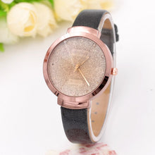 Load image into Gallery viewer, 2018 Fashion Full Crystal Leather Watch Women Ladies Dress Quartz Wrist Watches Clock Relogio Feminino