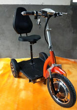 Load image into Gallery viewer, 3 Wheels  Scooter trike electric scooter 500W 48V 20AH with lithium batteries