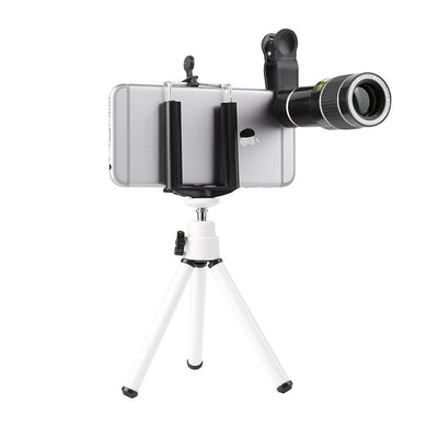 20 X Mobile Phone Telephoto Telescope With  Phone Clip Tripod
