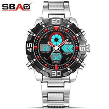 Load image into Gallery viewer, 2018 Fashion Watches Men Luxury Brand Amuda Gold Golden Sports Quartz-watch Dual Time Double Display Relogio Masculino Esportivo
