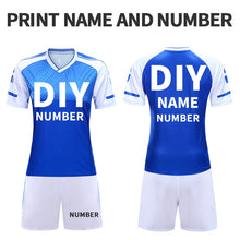 Load image into Gallery viewer, Adult Soccer Uniforms Survetement Football Jerseys 2019 For Girls Polyester Team Training Jersey Quick Dry Sportswear Customized