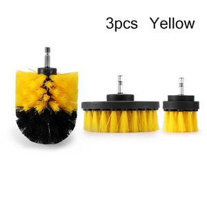 3pcs Power Scrubber Brush Set For Bathroom Drill Scrubber Brush For Cleaning Cordless Drill