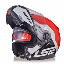Load image into Gallery viewer, LS2 FF325 STROBE Flip Up Motorcycle Helmet Road Modular CIVIK ZONE Helmets Capacete Cascos Moto Casques