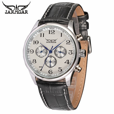 Reloj Hombre 2018 JARAGAR Fashion Self-wind Sport Mens Watches Brand Luxury Military Mechanical Watch Clock Relogio Masculino