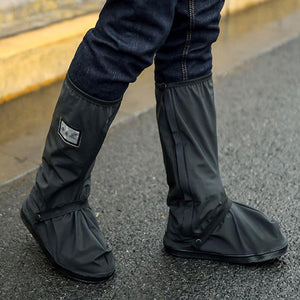 Reusable motorcycle waterproof Shoe Covers also for  Walking as they are non-slip