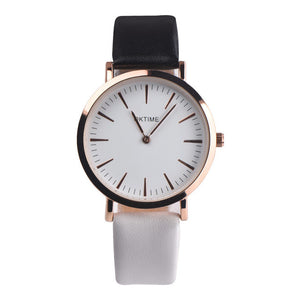 Women's Watches 2018 Fashion Women Retro Design Leather Band Analog Alloy Quartz Wrist Watch  Feature Summer korean gift