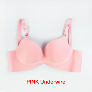 Sexy Deep U Cup Bras For Women Push Up Lingerie Seamless Bra