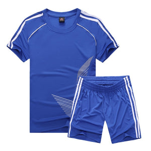 Soccer Set Jersey Sports Costumes for Kids Clothes Football Kits for Girls Summer Children Suits Boys Clothing Boys Set Uniforms