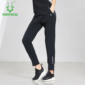 Womens Running Pants Quick Dry Training Jogging Trousers Female Slim Fitness Workout Sports Pants