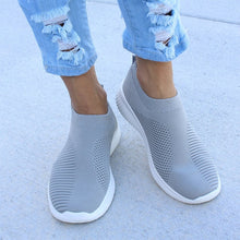 Load image into Gallery viewer, Plus Size 43 Sneakers Women Stretch Fabric Socks Shoe