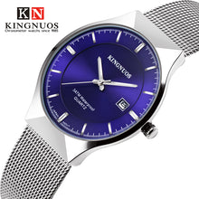 Load image into Gallery viewer, 2019 Ultra-thin Wristwatch Men Fashion Casual Mens Watches Top Brand Luxury Quartz Watch Mesh Clock Male Saat Relogio Masculino