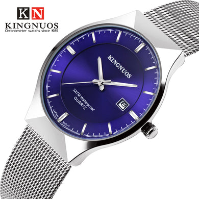 2019 Ultra-thin Wristwatch Men Fashion Casual Mens Watches Top Brand Luxury Quartz Watch Mesh Clock Male Saat Relogio Masculino