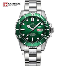 Load image into Gallery viewer, 2019New mens watches top brand luxury Carnival automatic mechanical wrist watches full steel fashion military sport clocks reloj
